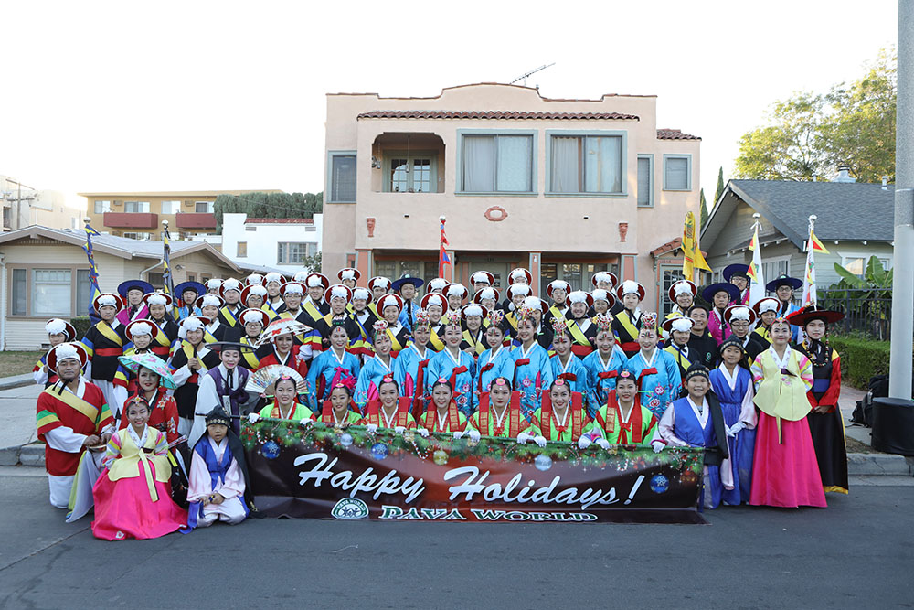 Hollywood Christmas Parade 2019.Pava World